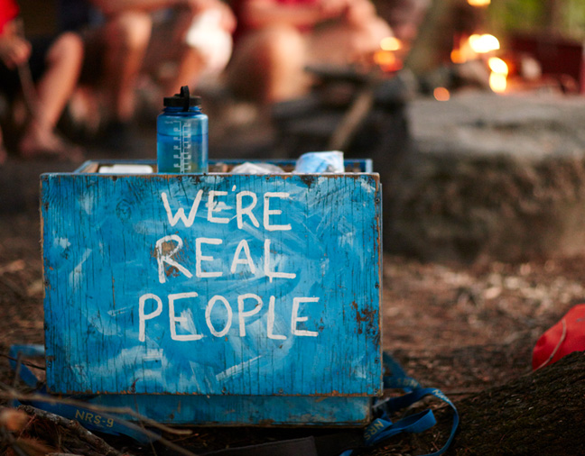We are real people